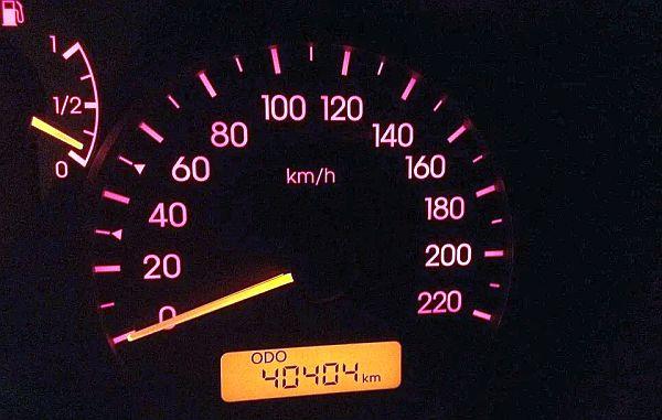 kilometerteller voor ritten-administratie