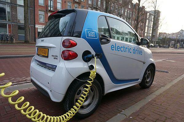 Bijtelling Elektrische auto naar 12 procent